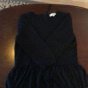The loft black sweater.